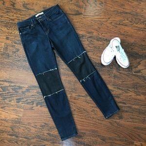 J Brand Duke Beatnik Patched Skinny Jeans